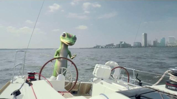 GEICO TV Spot, 'The Gecko's Journey: Baltimore Boat'
