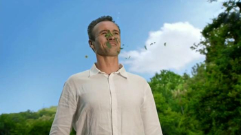 Claritin-D TV Spot, 'Face Full of Flowers: Leaf Guy' thumbnail