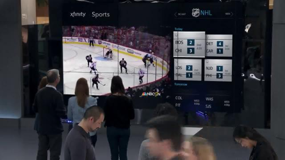 Xfinity Tv Ad Xfinity X1 Triple Play...