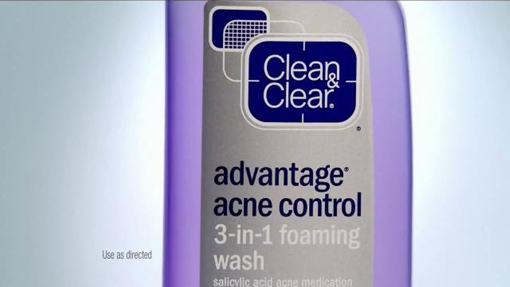 Clean Amp Clear 3 In 1 Foaming Acne Wash Tv Spot Ispot Tv