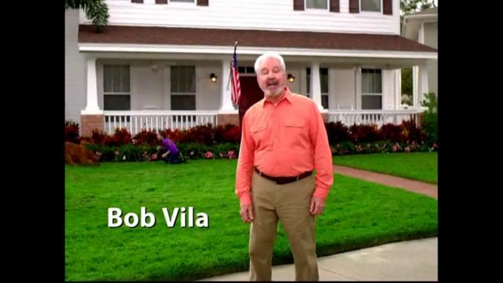 Grassology TV Spot Featuring Bob Vila - Screenshot 1
