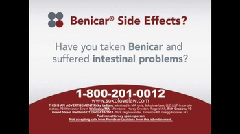 Sokolove Law TV Spot, 'Benicar Side Effects'