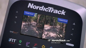Nordic Track Space Saver SE9i Elliptical TV Spot, 'Transformation'