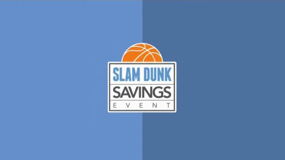 ashley furniture homestore slam dunk saving event tv spot