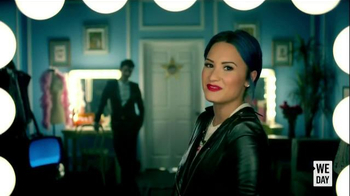 We Day TV Spot, 'Initiative' Featuring Joe Jonas and Demi Lovato