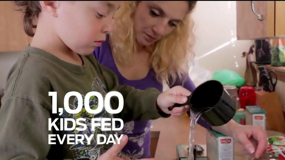 Ford Focus on Child Hunger TV Spot