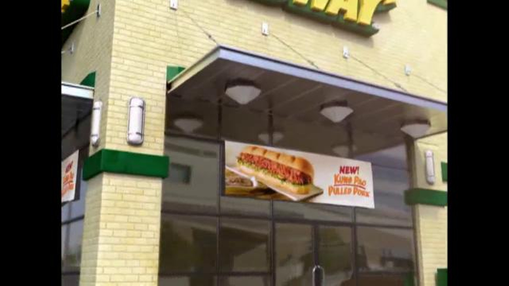 Subway Kung Pao Pulled Pork TV Spot - Screenshot 2