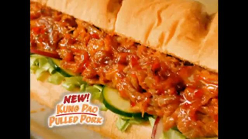Subway Kung Pao Pulled Pork TV Spot - Thumbnail 9