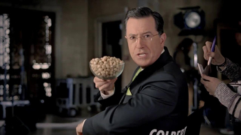 Wonderful Pistachios Super Bowl 2014 Teaser TV Spot Ft. Stephen Colbert