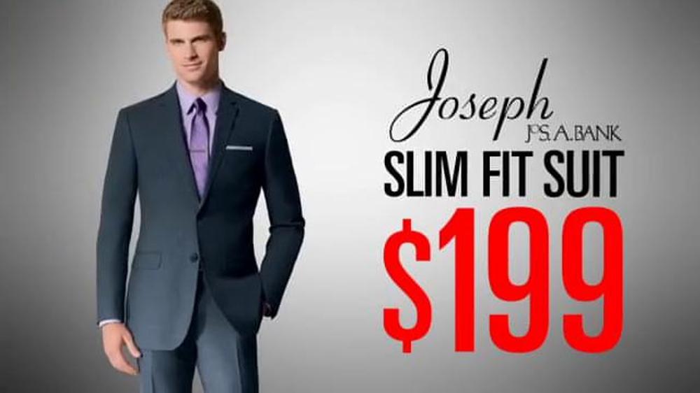 JoS. A. Bank TV Commercial, 'Feb 2014 $199 Joseph Suit ... Joseph A Bank
