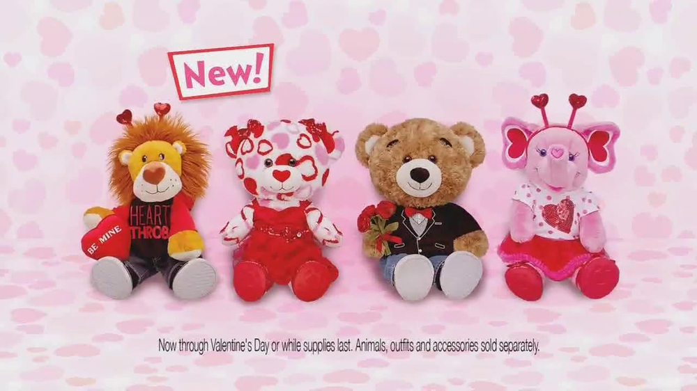 Valentine  S Day Build A Bear Commercial