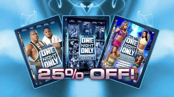 ShopTNA TV Spot, 'One Night Only DVDs'