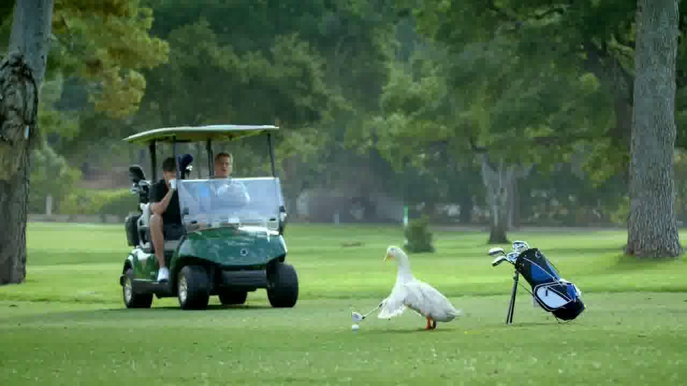 Aflac TV Spot, 'Bad Golfer' - Screenshot 1