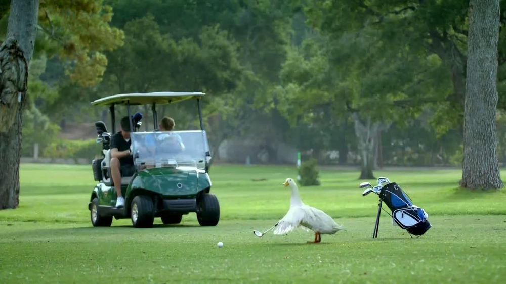 Aflac TV Spot, 'Bad Golfer' - Screenshot 2