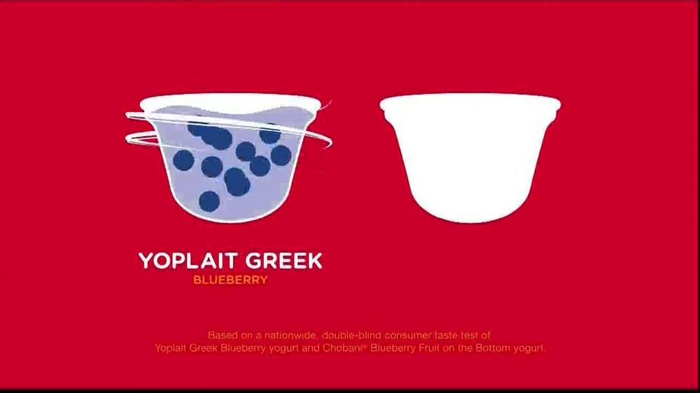 Yoplait Blueberry Greek Yogurt TV Spot, 'Taste-Off' - Screenshot 3
