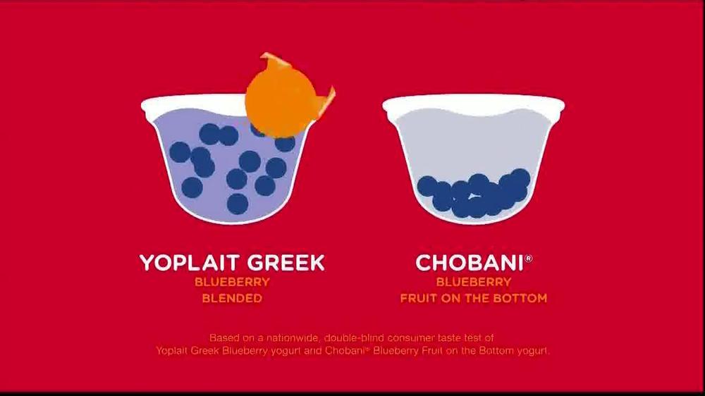 Yoplait Blueberry Greek Yogurt TV Spot, 'Taste-Off' - Screenshot 4