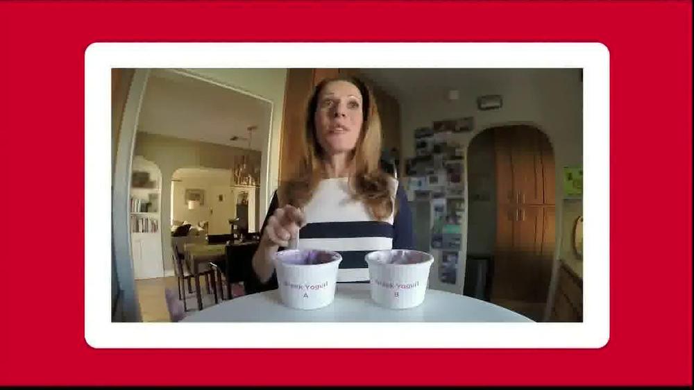 Yoplait Blueberry Greek Yogurt TV Spot, 'Taste-Off' - Screenshot 5