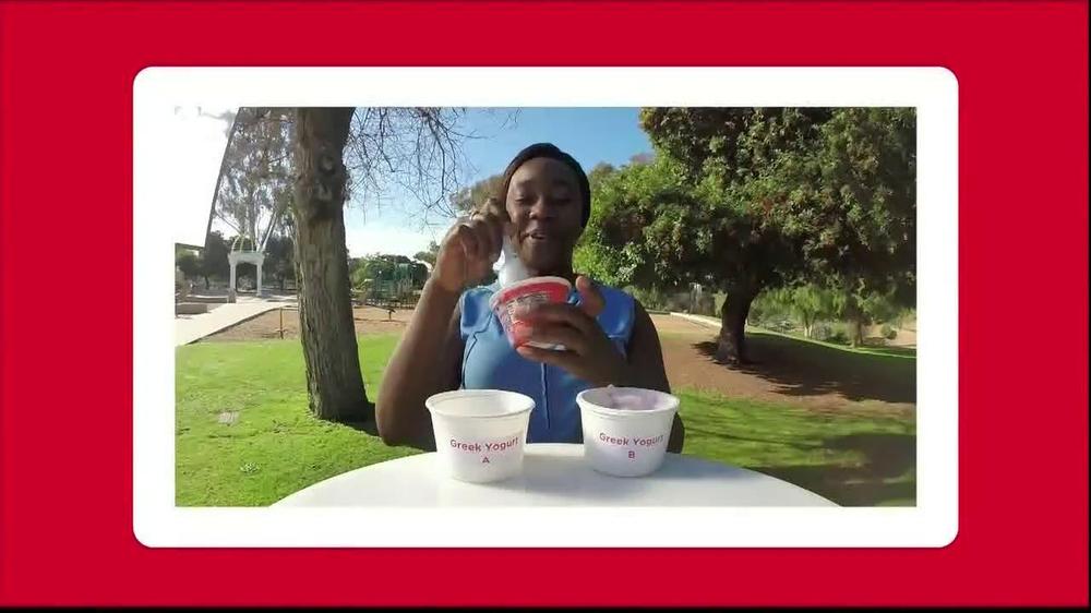 Yoplait Blueberry Greek Yogurt TV Spot, 'Taste-Off' - Screenshot 7