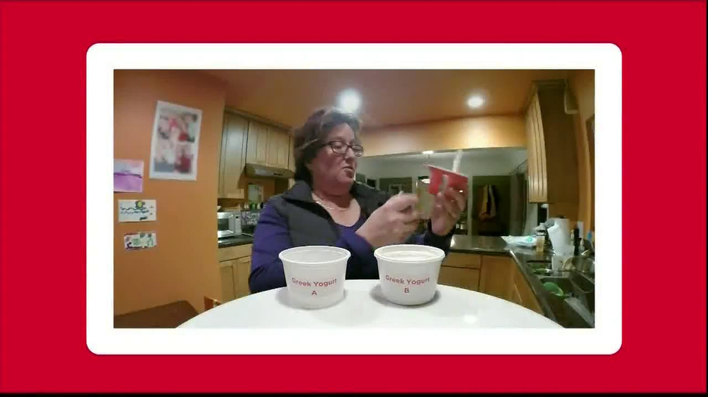 Yoplait Blueberry Greek Yogurt TV Spot, 'Taste-Off' - Screenshot 9