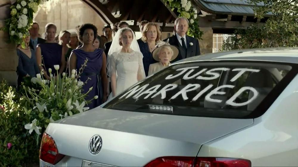 Volkswagen Jetta Tv Commercial Just Married Ispot Tv