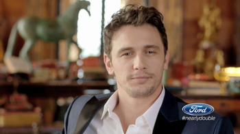 Ford Super Bowl 2014 Teaser TV Spot, 'Nearly Double' Featuring James Franco