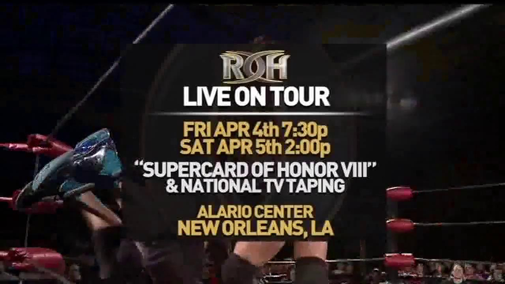 ROH Wrestling Supercard of Honor VIII TV Spot - Screenshot 8
