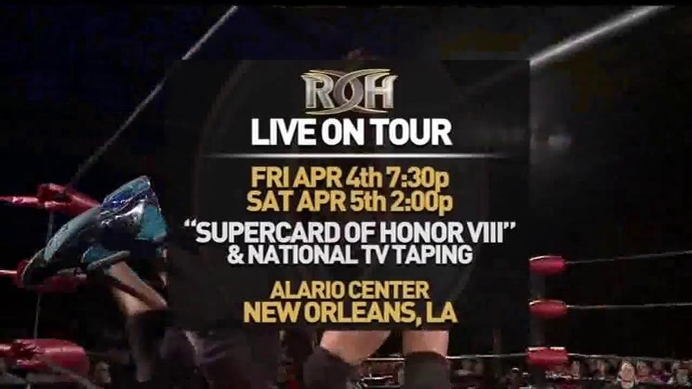 ROH Wrestling Supercard of Honor VIII TV Spot - Screenshot 8