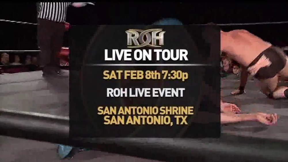 ROH Wrestling Supercard of Honor VIII TV Spot - Screenshot 1