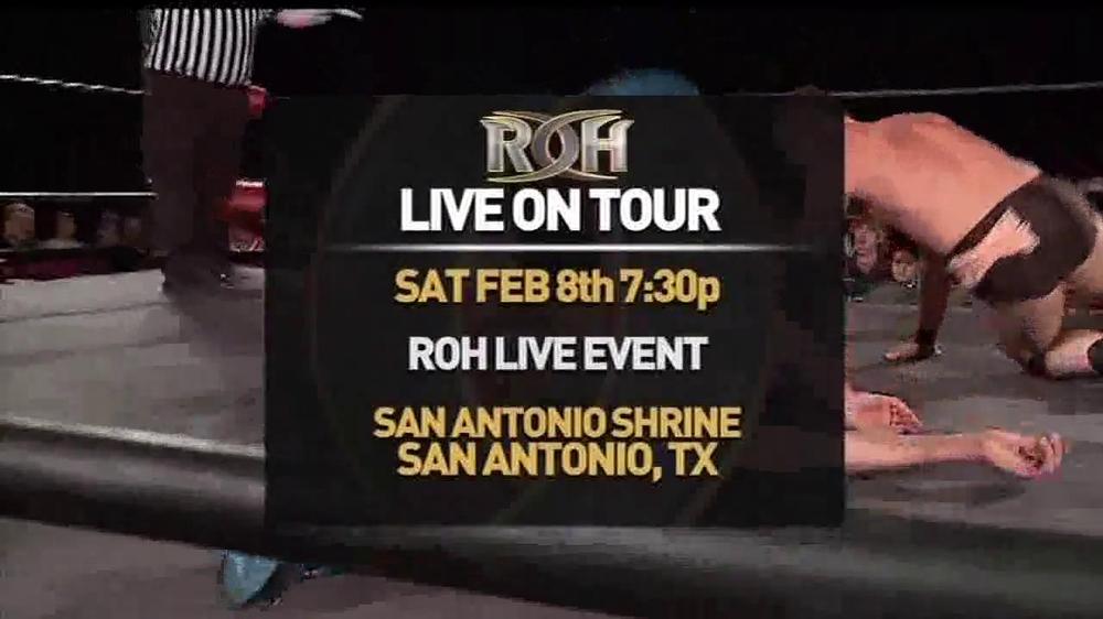 ROH Wrestling Supercard of Honor VIII TV Spot - Screenshot 1