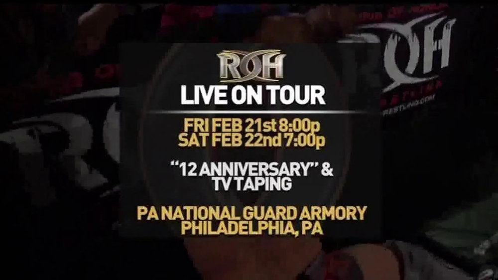 ROH Wrestling Supercard of Honor VIII TV Spot - Screenshot 2