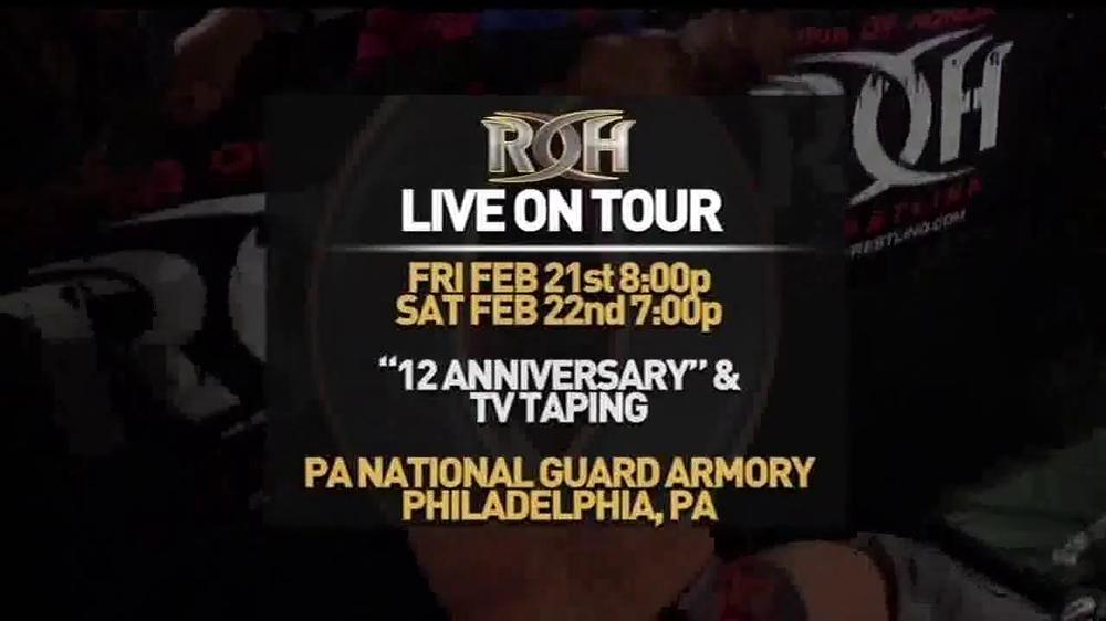 ROH Wrestling Supercard of Honor VIII TV Spot - Screenshot 2