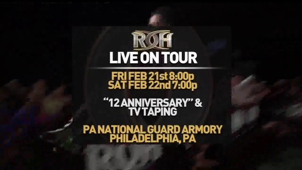 ROH Wrestling Supercard of Honor VIII TV Spot - Screenshot 3