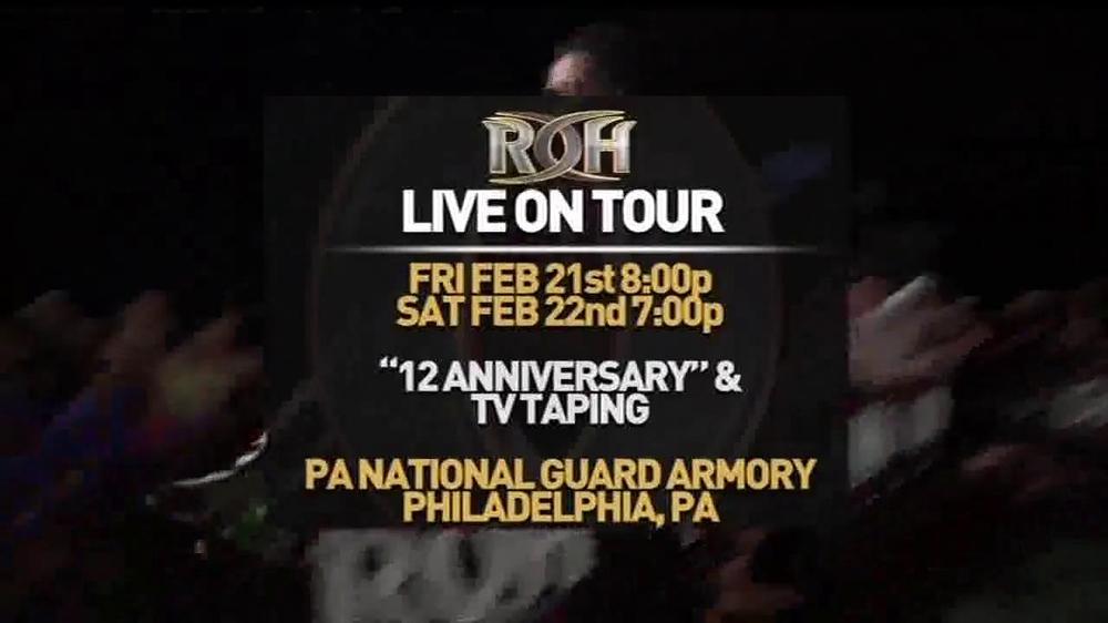 ROH Wrestling Supercard of Honor VIII TV Spot - Screenshot 3