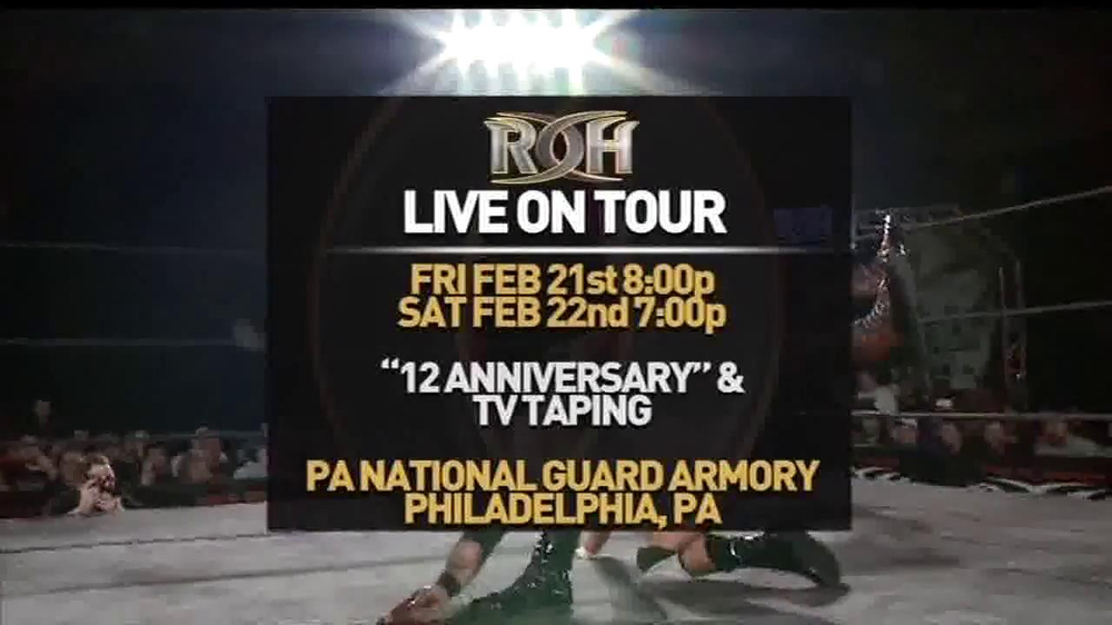 ROH Wrestling Supercard of Honor VIII TV Spot - Screenshot 4