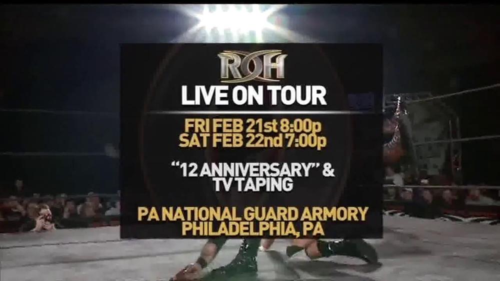 ROH Wrestling Supercard of Honor VIII TV Spot - Screenshot 4
