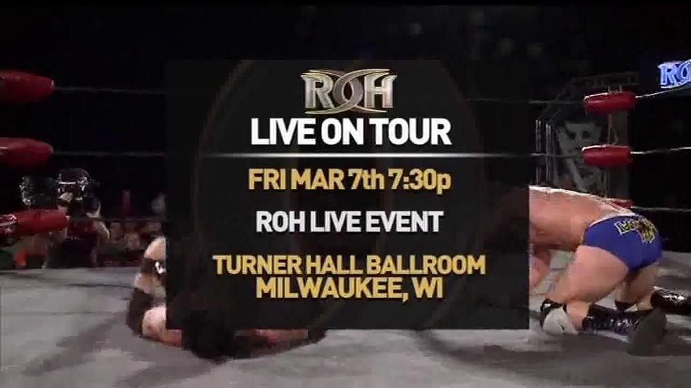ROH Wrestling Supercard of Honor VIII TV Spot - Screenshot 5