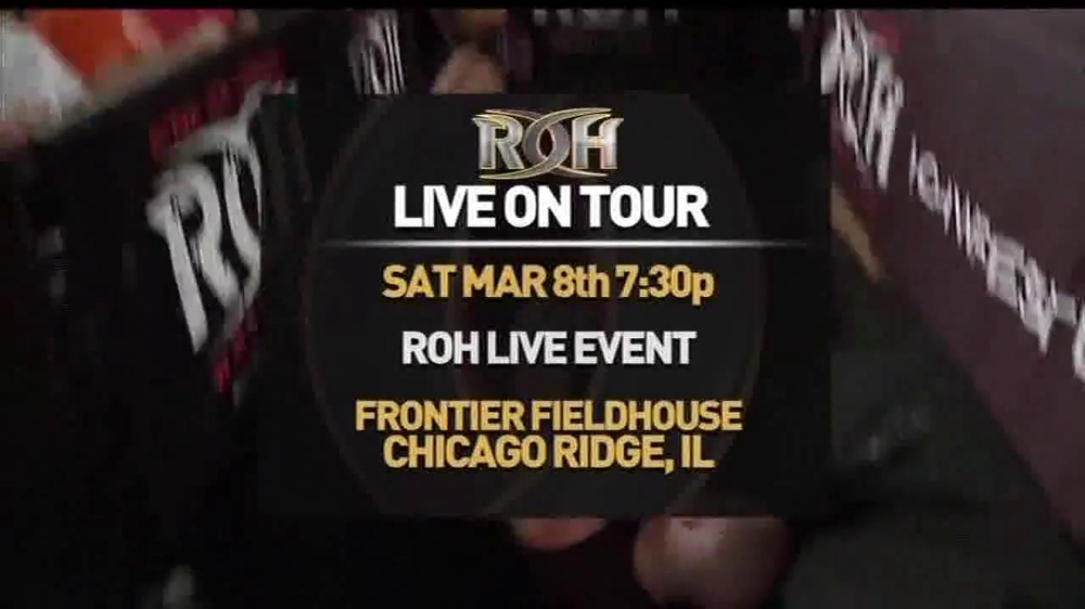 ROH Wrestling Supercard of Honor VIII TV Spot - Screenshot 6