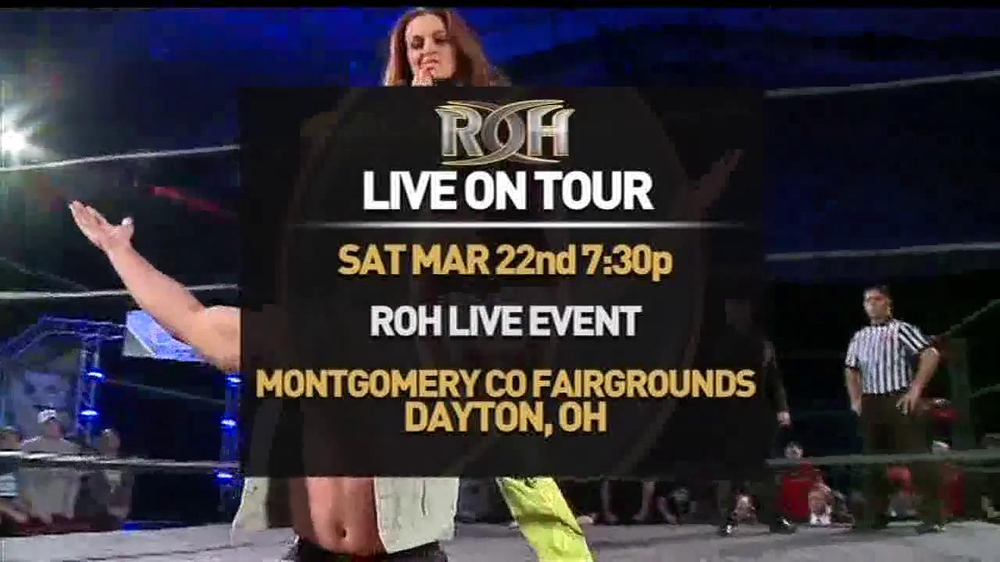 ROH Wrestling Supercard of Honor VIII TV Spot - Screenshot 7