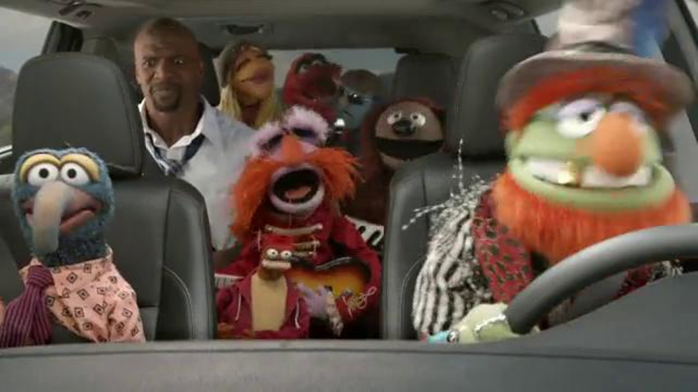 Toyota Highlander Super Bowl 2014 TV Spot Feat. The Muppets, Terry Crews - Screenshot 7