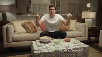 Esurance Super Bowl 2014 TV Spot Featuring John Krasinski