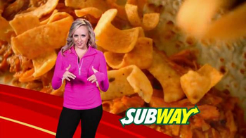 Subway Fritos Chicken Enchildada Melt Super Bowl 2014 TV Spot