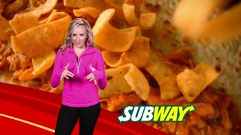 Subway: Fritos Chicken Enchildada Melt Super Bowl 2014