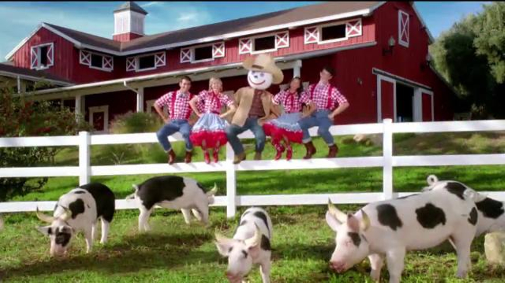 Jack in the Box Bacon Insider Super Bowl 2014 TV Spot, 'Moink' - Screenshot 6