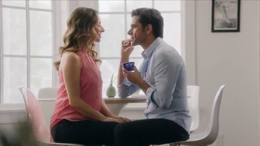 Dannon Oikos Super Bowl 2014 TV Spot, 'The Spill' Feat. John Stamos - Screenshot 1