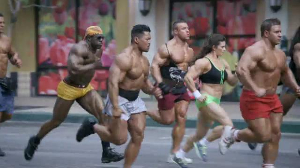 GoDaddy Super Bowl 2014 TV Spot, 'Bodybuilder' Featuring Danica Patrick - Screenshot 5