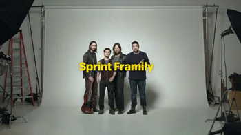 Sprint Framily Plan Super Bowl 2014 TV Spot, 'Band' - Thumbnail 2
