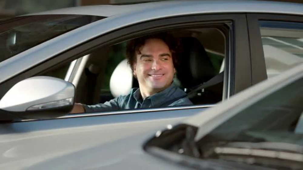 Hyundai Super Bowl 2014 TV Spot, 'Nice' Featuring Johnny Galecki - Screenshot 2