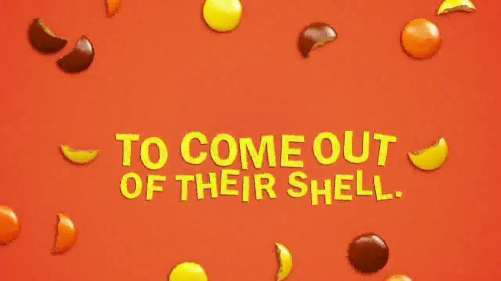 Reese's Pieces TV Spot, 'Out of Their Shell' - Screenshot 8
