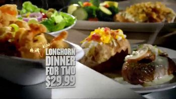 Longhorn Steakhouse Sirloin Chimichurri Sandwich TV Spot