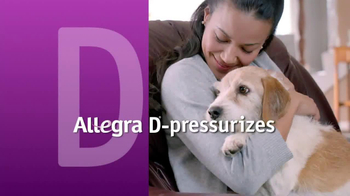 Allegra-D TV Spot